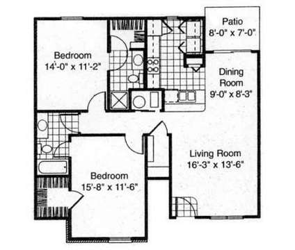 2 Beds - Ashton Brooke of Beavercreek at 3025 Fountain Drive in Beavercreek OH is a Apartment