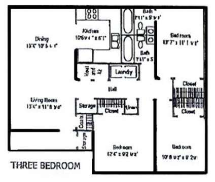3 Beds - Stonehaven East at 7000 Fernwood Dr in Charlotte NC is a Apartment