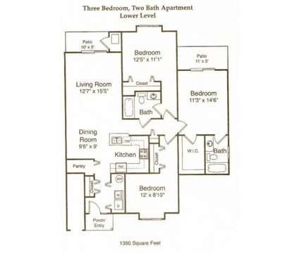 3 Beds - Blackberry Creek Village Apartments at 4140 Blackberry Creek Drive in Burton MI is a Apartment
