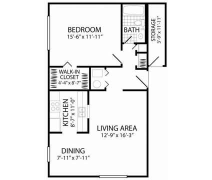 1 Bed - Quail Run Apartments Columbus at 1182 Quail Run Dr in Columbus IN is a Apartment