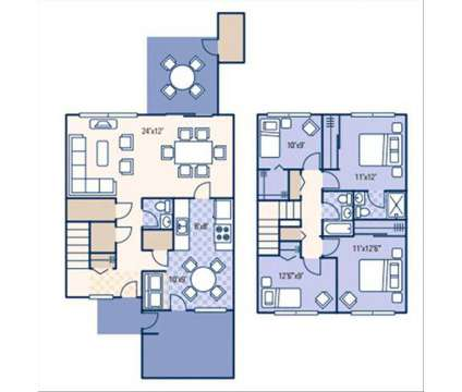 4 Beds - Fort Gordon Family Homes at 155 3rd Ave in Fort Gordon GA is a Apartment