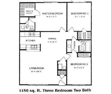 3 Beds - Fountainhead Apartments at 8101 Laguna Dr in Indianapolis IN is a Apartment