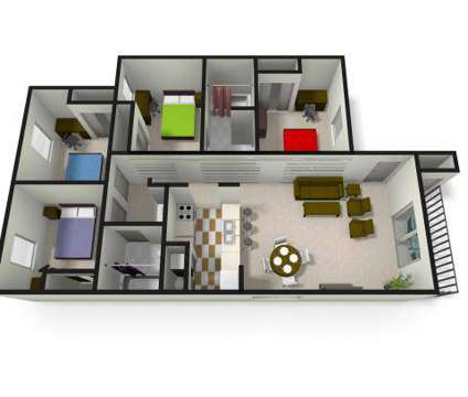 4 Beds - The Village at Bluegrass (Student Housing) at 4300 Collegiate Way in Mount Pleasant MI is a Apartment