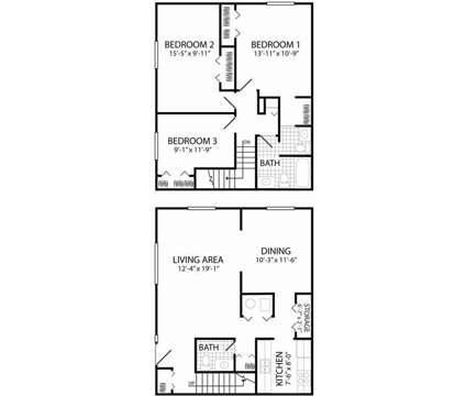 3 Beds - Quail Run Apartments Columbus at 1182 Quail Run Dr in Columbus IN is a Apartment