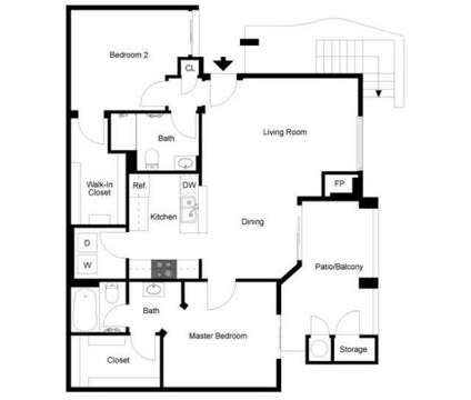 2 Beds - Estancia at 3350 N Durango Dr in Las Vegas NV is a Apartment