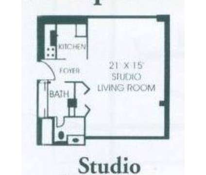 Studio - Fir Hill Towers at 55-77 Fir Hill Dr in Akron OH is a Apartment