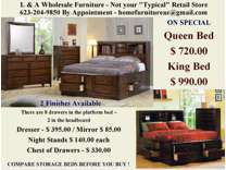 LARGE Storage Captains Bed in 2 finishes