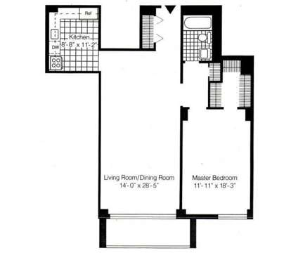 1 Bed - The Excelsior II at 170 Prospect Ave in Hackensack NJ is a Apartment