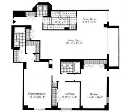 3 Beds - The Excelsior II at 170 Prospect Ave in Hackensack NJ is a Apartment