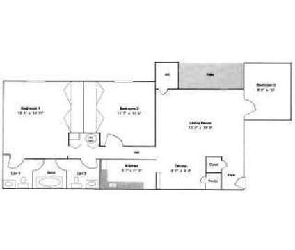 2 Beds - Carolina Apartments at 401 Hwy 54 Bypass West in Carrboro NC is a Apartment