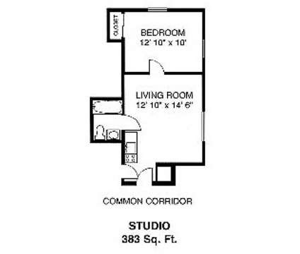 Studio - River Drive Apartments at 3-17 River Dr in Danvers MA is a Apartment