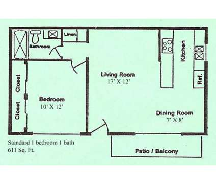 1 Bed - Casa Real at 2224 South Real Rd in Bakersfield CA is a Apartment