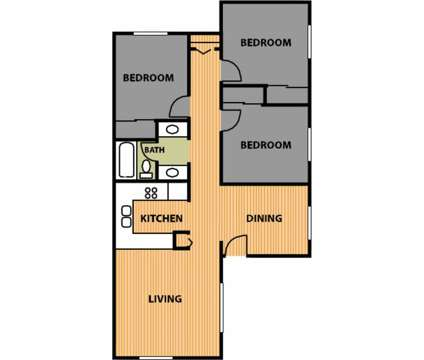 3 Beds - Evergreen Garden Apartments at 3138 Overhulse Rd Nw in Olympia WA is a Apartment