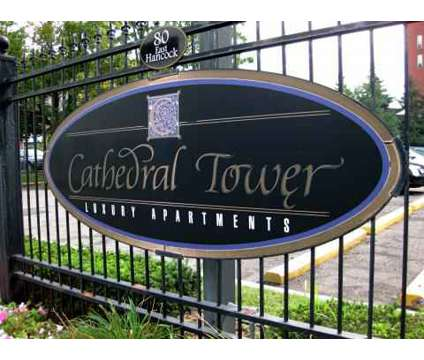 Studio - Cathedral Tower at 80 East Hancock St in Detroit MI is a Apartment