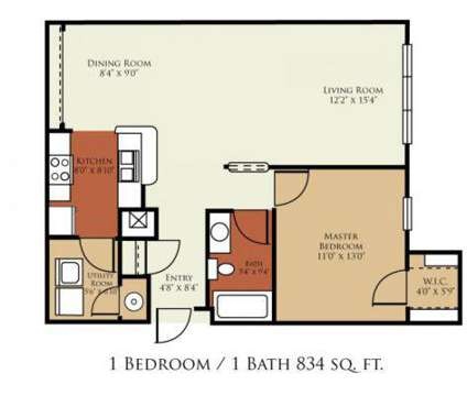 1 Bed - Crossings at Cape Coral at 1150 Hancock Creek South Boulevard in Cape Coral FL is a Apartment