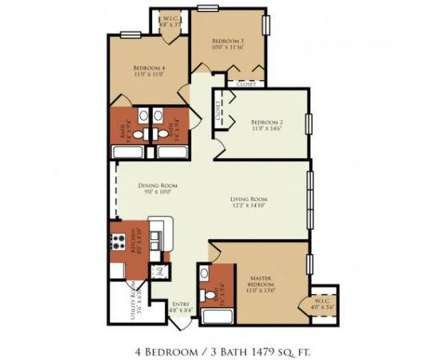 4 Beds - Crossings at Cape Coral at 1150 Hancock Creek South Boulevard in Cape Coral FL is a Apartment