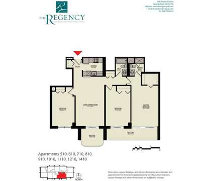 3 Beds - The Regency at 800 Pleasant St in New Bedford MA is a Apartment
