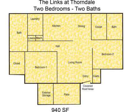 2 Beds - Links @ Thorndale at 701 Fairway Dr in Oxford NC is a Apartment