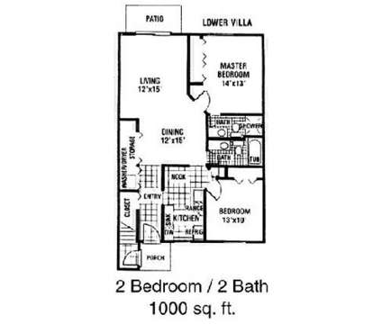 2 Beds - Canterbury Woods Apartments at 572 Tobin Dr in Inkster MI is a Apartment