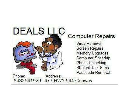 Remove Computer Viruses Same Day Service $39 (USA ) (Conway Horry County ) is a Other Computer Equipments for Sale in Conway SC