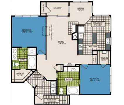2 Beds - Marquis at Waterview at 800 W Renner Road in Dallas TX is a Apartment