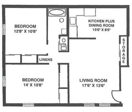 2 Beds - Mayfair Village at 2450 Sycamore Ln in West Lafayette IN is a Apartment