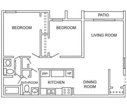 2 Beds - Villas Esperanza Apartments at 3901 Lafayette Dr Ne in Albuquerque NM is a Apartment