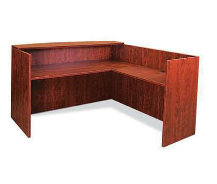 CLASSY - New Reception Desk and Return is a Desks for Sale in Milwaukee WI