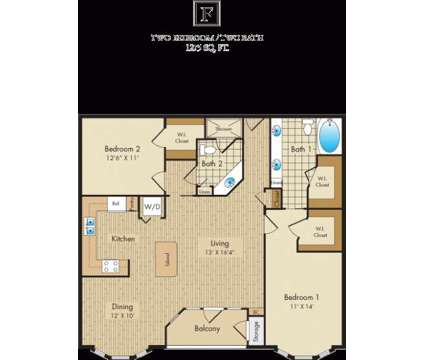 2 Beds - Liberty Place at 250 Liberty St in Columbus OH is a Apartment