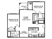 2 Beds - Rivermere