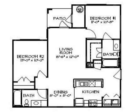 2 Beds - Rivermere at 3404 Dunn Commons Parkway in Charlotte NC is a Apartment