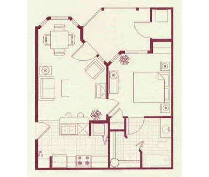 1 Bed - La Serena at Hansen Park at 7701 W 4th Avenue in Kennewick WA is a Apartment