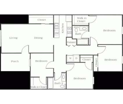 4 Beds - Canterbury House - Lebanon at 515 Dogwood Dr in Lebanon IN is a Apartment