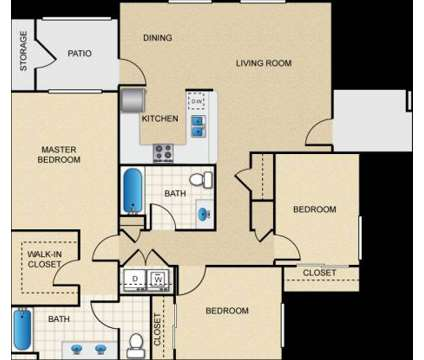 3 Beds - Greystone Apartments at 5610 N Gates Ave in Fresno CA is a Apartment