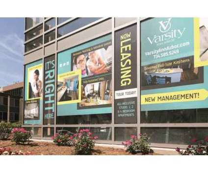 Studio - The Varsity Ann Arbor at 425 East Washington in Ann Arbor MI is a Apartment