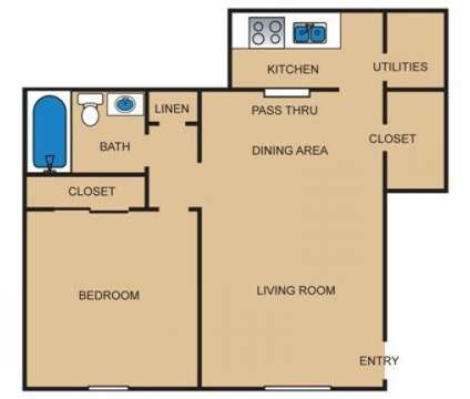 1 Bed - Park Crossing at 2000 Maplewood Dr in Maple Shade NJ is a Apartment