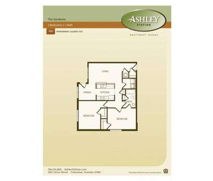 2 Beds - Ashley Station at 2321 Olive St in Columbus GA is a Apartment