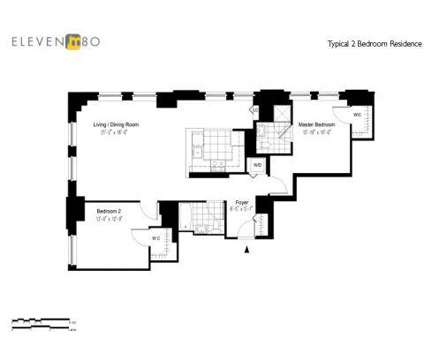 2 Beds - Eleven80 at 1180 Raymond Blvd in Newark NJ is a Apartment