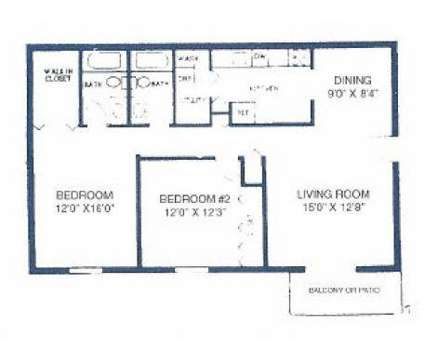 2 Beds - Deane Hill Apartments at 7700 Gleason Dr in Knoxville TN is a Apartment