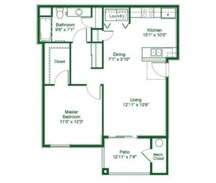 1 Bed - Glenbrook Terrace at 6551 Mccarran St in North Las Vegas NV is a Apartment