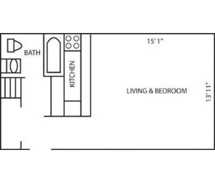 Studio - Pine Crest at 3734 East Lane Salle St in Colorado Springs CO is a Apartment