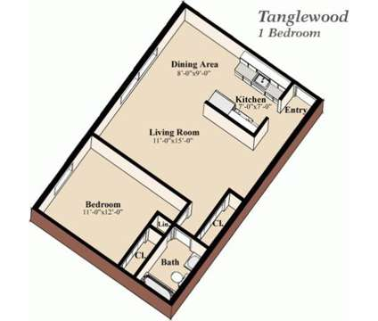 1 Bed - Tanglewood Apartment Homes at 815 East Grandview Blvd in Erie PA is a Apartment