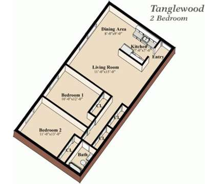 2 Beds - Tanglewood Apartment Homes at 815 East Grandview Blvd in Erie PA is a Apartment