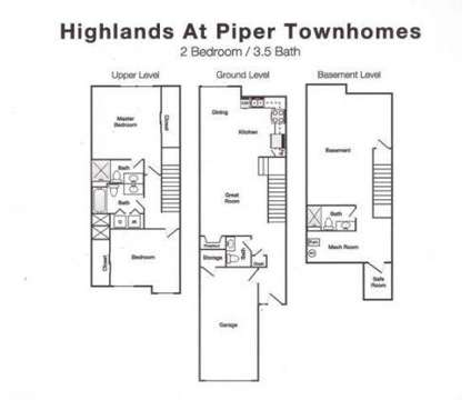 2 Beds - Highlands at Piper Townhomes at 4401 N 106th Terrace in Kansas City KS is a Apartment