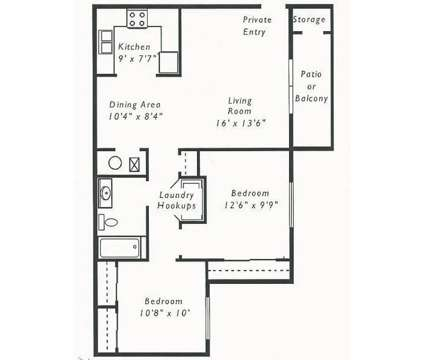 2 Beds - RiverEast Apartments at 3201 Renner Dr in Council Bluffs IA is a Apartment