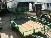 New 5x8 Utility Trailer - Little Bragg