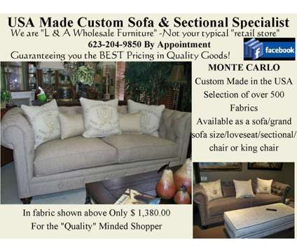 Button Tufted Monte Carlo Sofa is a Sofas for Sale in Glendale AZ