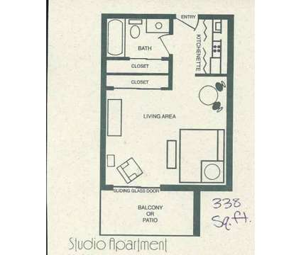 Studio - Stonecrest Apartments at 1901 Union St in Lafayette IN is a Apartment