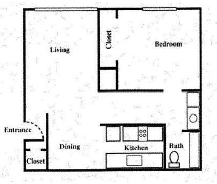 1 Bed - THE TERRACE AT FAIR OAKS at 5820 Sutter Ave in Carmichael CA is a Apartment