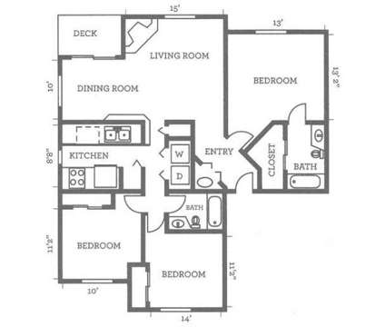 3 Beds - Woodcreek at 14611 Admiralty Way in Lynnwood WA is a Apartment